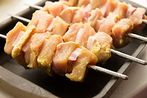 Шашлычки из свинины с грудинкой в духовке