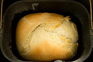 Хлеб на картофельном отваре в хлебопечке