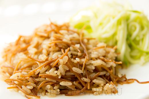 Рис с вермишелью по-арабски - роз ма шаарие