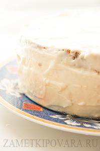 Бисквитный торт Птичье молоко с заварным кремом