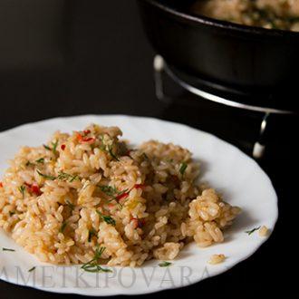 Рис с пряными специями
