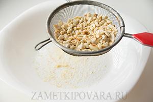 Грильяж из арахиса
