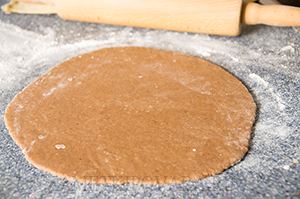 Рождественское шоколадное печенье