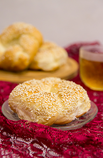 Симиты - турецкие бублики с кунжутом