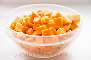 Тыквенный крем-суп на кокосовом молоке