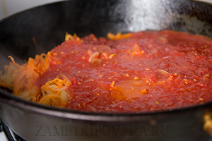Постные тефтели в томатном соусе