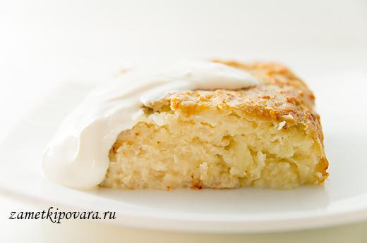 Кугелис - литовская картофельная запеканка