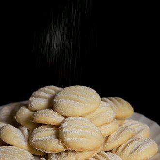 Ванильное песочное печенье