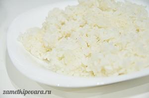 Рисовый пудинг с изюмом