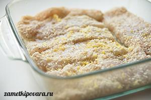 Пангасиус в панировке из кунжута