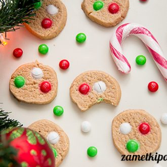Песочное печенье m&m`s