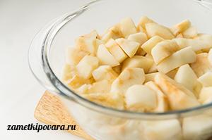 Зефир из черной смородины и яблок
