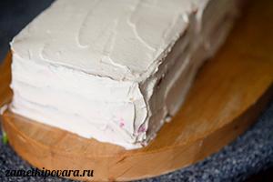Закусочный торт из тостерного хлеба с курицей