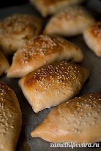 Узбекская самса с тыквой
