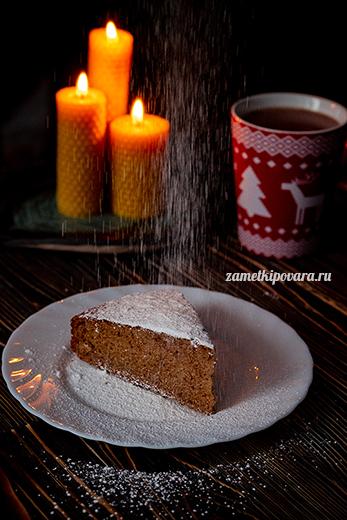 Чайный кекс с вареньем