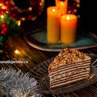 """Торт """"Шоколадный Медовик"""""""