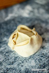 Манты с грибами и картофелем