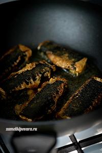 """Вегетарианская """"рыба"""" из тофу и нори"""