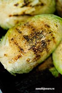 Молодая капуста, запеченная под сыром