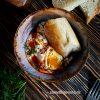 Чылбыр или яйца-пашот по-турецки